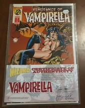 Feb. 1996 Vengeance of VAMPIRELLA #1/2 w COA NICE First Print - $9.55