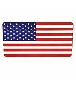 USA American Flag Plastic Sign Home Office Wall Decor US United States 1... - $19.58