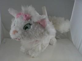 Adorable white Marie Cat Kitten  Aristicats Purse Disney CLEAN great con... - $8.90