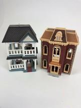 Hallmark Ornaments 1993  2007 Nostalgic Houses And Shops Bookstore  &House - $19.79