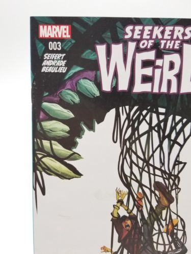 Disney Kingdoms Seekers of the Weird #3 First Print March 2014 Marvel Comics