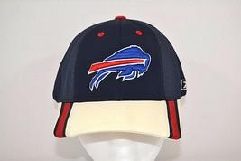 Buffalo Bills Reebok Baseball Cap Blue/White w/Red & Blue Bill OSFM - $17.99