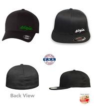 Kawasaki Ninja Motorcycle Flex Fit Hat Curved Or Flat Bill *Free Shipping In Box* - $19.99
