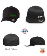 KAWASAKI NINJA MOTORCYCLE FlexFit HAT CURVED or FLAT BILL *FREE SHIPPING... - $19.99