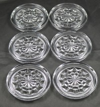 Set of 6, American, No. 2056, Coasters, by Fostoria Glass Co. - $36.00