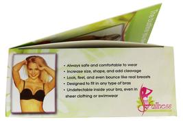 Fullness Women's Silicone Breast Enhancer Push Up Pads With Nude Nipple #1001A image 4