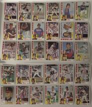 1984 Topps California Angels Team Set of 30 Baseball Cards - $5.49