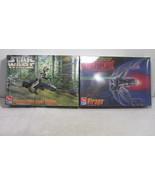 1997 Star Wars Virago & Speeder Bike Flight Display Model Kit - ERTL FS - $29.02