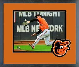 "Trey Mancini 2018 Baltimore Orioles ""Catch""-11x14 Team Logo Matted/Frame... - $42.95"