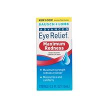 Bausch & Lomb Advanced Eye Relief Maximum Redness Reliever Eye Drops, 0.... - $4.92