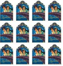JASMINE Party Birthday Invitations Invite Aladdin Princess Postcards Seals 16PCS - $15.79