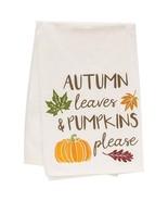 Autumn Leaves Dish Towel - $36.01