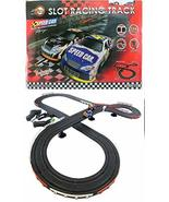 JJTOYS Stock Car Racing HO Scale Slot Car Toy Race Set - $49.99