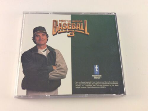Tony La Russa Baseball 3 (1995) PC CD MLB Manager Sports Season Roster Strategy  image 2