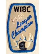 WIBC 1984-1985 LEAGUE CHAMPION BOWLING PATCH - $4.99