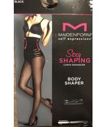 Maidenform Womens Sexy Shaping Curve Enhancer Body Shaper Black Size M M... - $10.45
