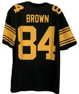 PITTSBURGH STEELERS ANTONIO BROWN COLOR RUSH JERSEY DRI FIT NIKE ADULT M... - $38.21
