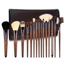 ZOREYA Makeup Brushes Premium Real Walnut 15pc High End Brush Set For...  - $24.55