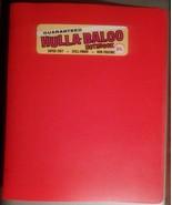 Vtg 1980s Hulla-Baloo Notebook Orange Vinyl Binder NOS With Original Sti... - $9.99