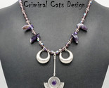 Amethyst Bali Sterling Silver Necklace - $104.30