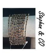 STEPHAN & CO BOHO GOLD GREY  STACK BRACELETS NWT  - $12.00