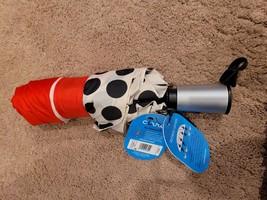 ShedRain Auto Open/Close Air Vent Compact Umbrella  - Red Polka Dot - $16.50