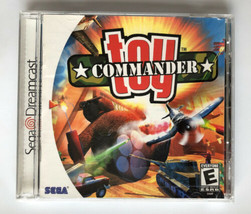 ☆ Toy Commander (Sega Dreamcast 1999) AUTHENTIC COMPLETE in Box Game Man... - $16.50