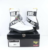 New Dr Martens x Sex Pistols 1490 SXP 10 Eyelet Backhand Boots Mens 10 W 11 - $197.95