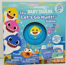 Pinkfong Baby Shark Let's Go Hunt Board Card Game Plays Baby Shark Song Ages 3+ - $14.95