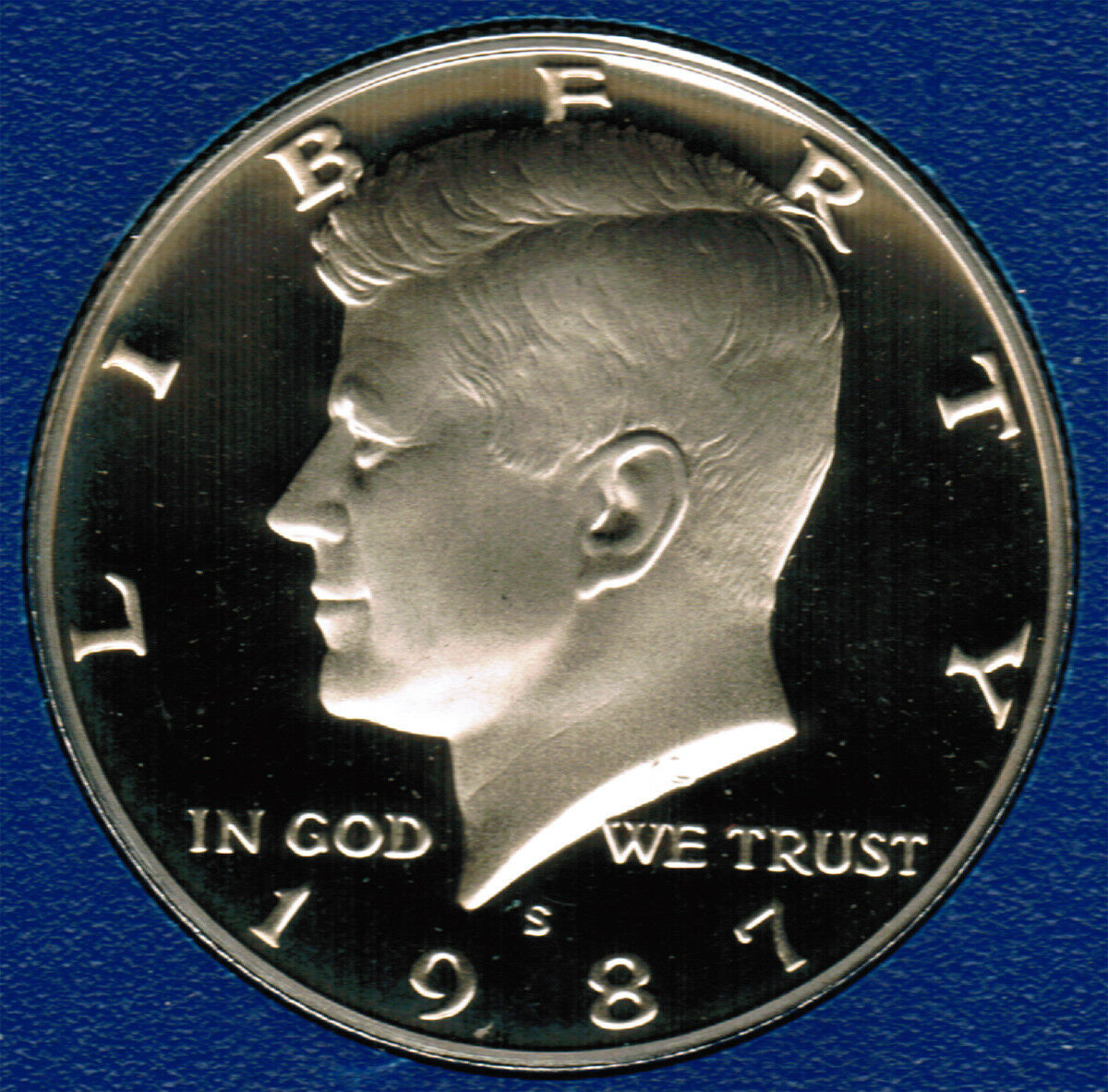 1987 S  Proof Kennedy Half Dollar CP2026