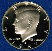 1987 S  Proof Kennedy Half Dollar CP2026 - $4.75