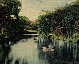 Old Undivided Back Postcard Deer Park Belle Isle, Detroit, Michigan 1908... - $14.65