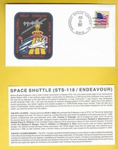STS-118 ENDEAVOUR KENNEDY SPACE CENTER FL AUGUST 21 2007 WITH INSERT CARD - $1.98