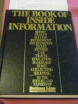 The Book of inside information: Money, health, success, marriage, educat... - $2.96