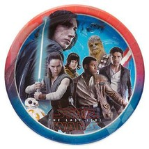 Star Wars Episode 8 The Last Jedi Lunch Plates 8 Count Birthday Party Supplies - $3.55