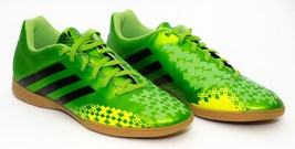 Adidas Predito Men's Indoor Soccer Shoes Neon Green Lime Size 10  - $34.65