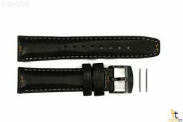 Luminox 7251.BO 20mm Donna in pelle Nera Cinturino Orologio con / 2 Pern... - $67.34