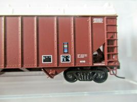 Micro-Trains # 10800410 Conrail 100-Ton 3-Bay Open Hopper with Topper N-Scale image 3