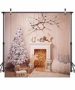 Dudaacvt 10X10FT Christmas Theme Pictorial Cloth Customized Photography ... - $42.13