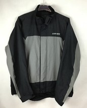 CanAm BRP XXL Mens Rain Riding Jacket 2XL FLAWED Nylon Black Spyder NWT A9-21 image 1