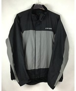 CanAm BRP XXL Mens Rain Riding Jacket 2XL FLAWED Nylon Black Spyder NWT ... - $99.87