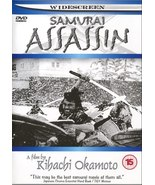 Kihachi Okamoto's Samurai Assassin DVD Toshiro Mifune English subtitles - $24.00