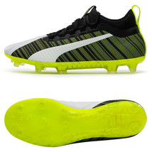 Puma ONE 5.2 FG/AG Football Shoes Soccer Cleats Boots Black/Green/White 10561803 - $115.99