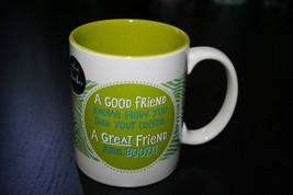 Hallmark Novelty Mug Ceramic Mug A Good Friend KNows How You Take Your Coffee .. - $8.99