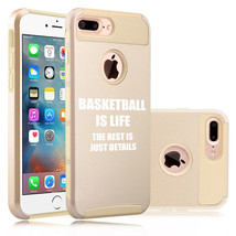 For Apple iPhone Protective Shockproof Hard Soft Case Cover Basketball I... - £12.40 GBP