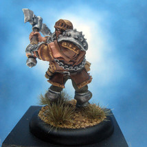 Painted Privateer Press Miniature Devil Dog Trooper Warmachine Mercenaries - $52.11