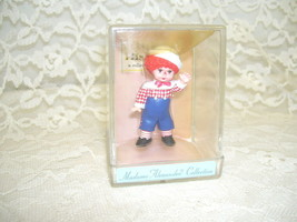 Madame Alexander Mop Top Billy Hallmark Merry Miniatures In Case 1996 - $21.03