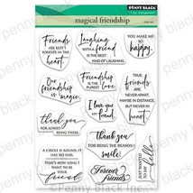 Penny Black Clear Stamps-Magical Friendship - $23.90