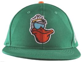 Cousins Miami Cool Pelican Fisherman Captain Palm Tree Snapback Baseball Hat NWT image 3