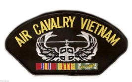 "AIR CAVALRY VIETNAM VETERAN EMBROIDERED 6""  MILITARY SERVICE RIBBON  PATCH - $15.33"